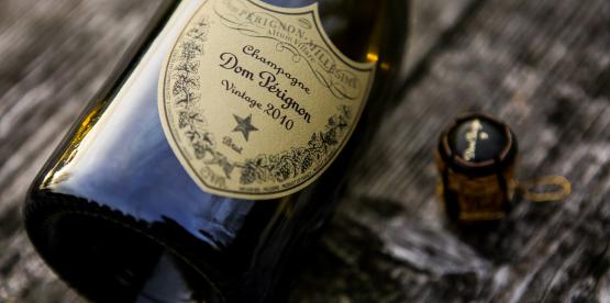 Champagnespalten: Dom Pérignon 2010
